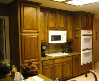 Update old cabinets